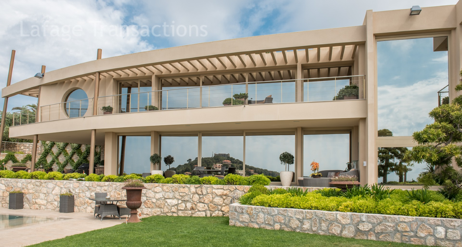 villefranche sur mer modern villa for sale exceptional On i architecture villefranche