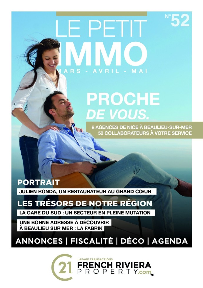 Le Petit IMMO n°52 - To discover in the 8 agencies of Century 21 Lafage!